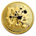 ミッキーマウス金貨 1オンス 2017年製 再入荷